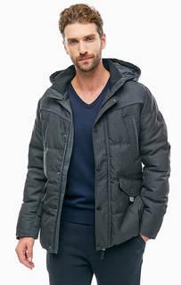 Серая куртка с карманами S.Oliver
