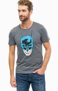 Хлопковая футболка с ярким принтом S.Oliver
