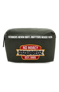 Текстильная поясная сумка Dsquared2