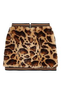 Мини-юбка с фактурной отделкой Dolce & Gabbana