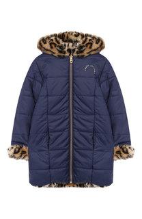 Двустороннее пальто с фактурной отделкой и капюшоном Marc Jacobs