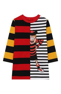 Хлопковое платье Stella McCartney