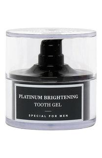 Гель для зубов Platinum Brightening Tooth Gel Montcarotte