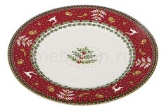 Тарелка плоская (20.7х1.6 см) Christmas collection 586-316