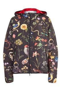 Куртка с капюшоном с принтом RED Valentino