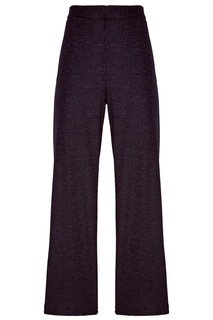 Шерстяные серые брюки Max Mara Weekend