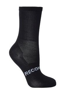 Черные носки с надписью Reconstruct Collective