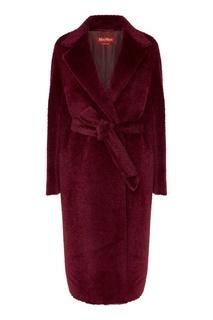 Двубортное шерстяное пальто MAX Mara