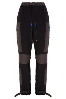 Черные брюки с нашивками Reconstruct Collective