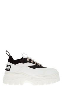 Массивные ботинки на шнуровке Msgm