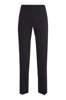 Черные брюки классического кроя Valentino