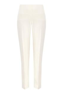 Белые брюки со стрелками Valentino