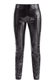 Черные облегающие брюки Valentino