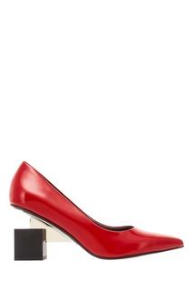 Красные туфли Cube Pump United Nude