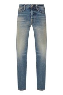 Прямые синие джинсы Blå Konst Acne Studios