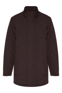 Темно-синяя куртка прямого кроя Bomboogie