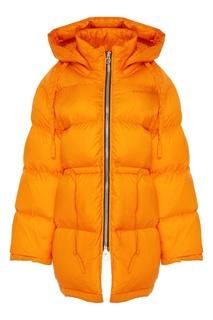 Оранжевая куртка-пуховик Acne Studios