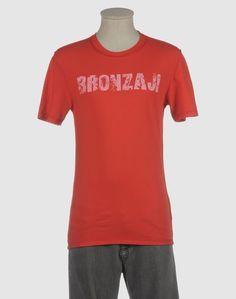 Футболка с короткими рукавами Bronzaji