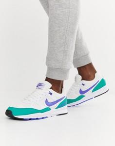 Зеленые кроссовки Nike Air Span II AH8047-106 - Зеленый