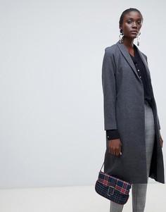 Удлиненное пальто Vero Moda Aware - Серый