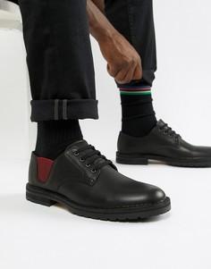 Черные туфли с эластичными вставками PS Paul Smith Artie - Черный
