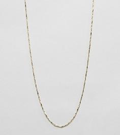 Крученое ожерелье из позолоченного серебра Kingsley Ryan - Золотой