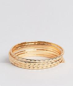 Набор браслетов Nylon - Золотой