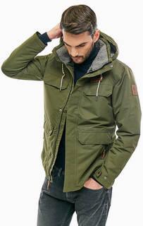 Удлиненная куртка цвета хаки South Canyon Columbia