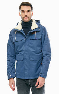 Удлиненная куртка синего цвета South Canyon Columbia