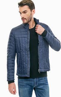 Синяя куртка с карманами Replay