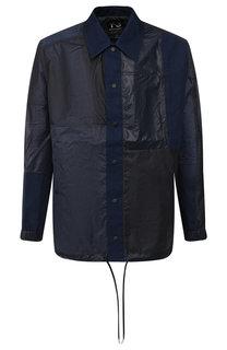Куртка на кнопках с отложным воротником Y-3