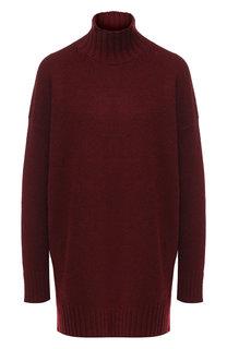 Удлиненный кашемировый пуловер с высоким воротником Pringle Of Scotland