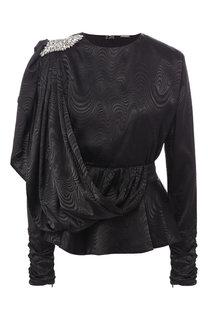 Приталенная блуза с декоративной отделкой Dodo Bar Or