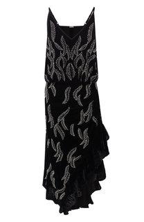 Приталенное платье-миди с декоративной отделкой Dodo Bar Or