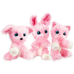 """Мягкая игрушка Worlds Apart """"Пушистик-потеряшка"""" Розовый, в закрытой упаковке"""