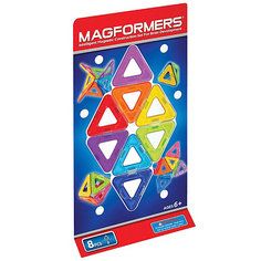 Магнитный конструктор Треугольники, 8 деталей, MAGFORMERS