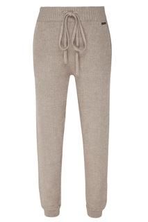 Серые трикотажные брюки Laroom