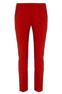 Красные шерстяные брюки Valentino