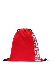 Красная сумка с принтом Napapijri