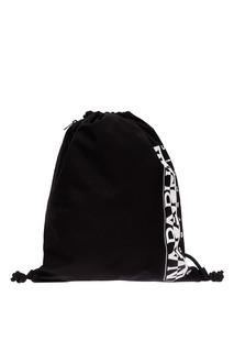 Черная сумка с затяжками Napapijri