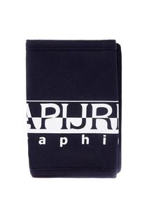 Синий кошелек с принтом Napapijri