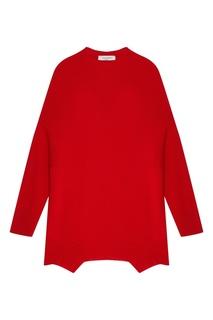 Красный кашемировый джемпер Valentino