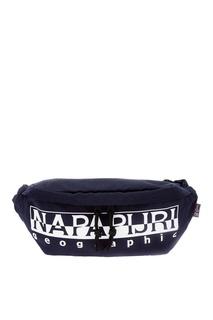 Черная сумка на пояс Napapijri