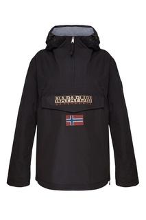 Черная куртка с логотипом Napapijri