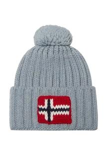 Серо-голубая шапка Napapijri