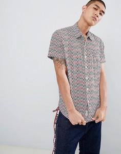 Рубашка с короткими рукавами и 1 карманом Levis Sunset Cloud Dancer - Синий Levis®