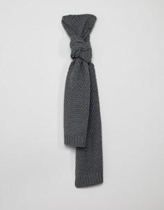 Вязаный шарф Only & Sons - Серый