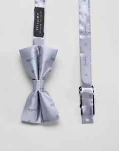 Серебристый галстук-бабочка Religion - Золотой