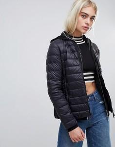 Дутая складываемая куртка Armani Exchange - Темно-синий
