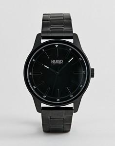 Черные часы-браслет HUGO 1530040 Dare - Черный